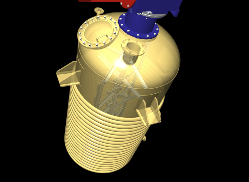 Pressurised  Grease cooking kettle